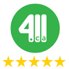 411 5 Star Reviews